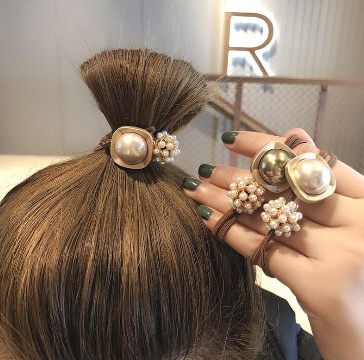 2020新品★ヘアゴム★ 髪飾り★レディース★ ヘアアクセサリー★ファッション★女の子★2色