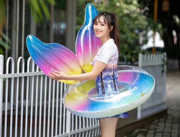 人気新品★浮き輪★遊べる浮輪★100cm★