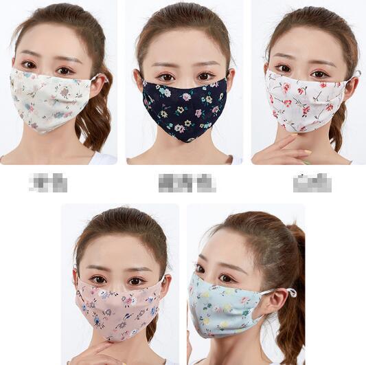 2020★夏 洗えるマスク★ 防塵 防花粉 通気性 日焼け止め 薄手 飛沫防止 マスク★