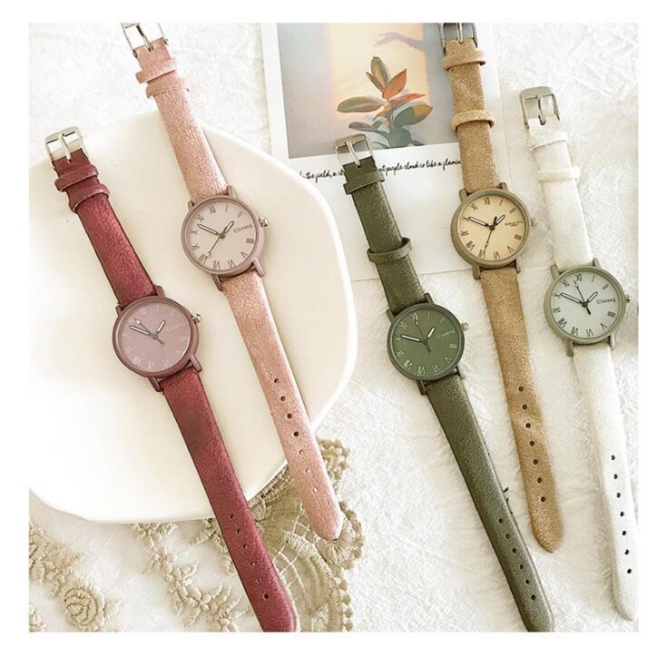 新作★ストーン★レディース用★素敵な腕時計★通学、通勤★ウォッチ★