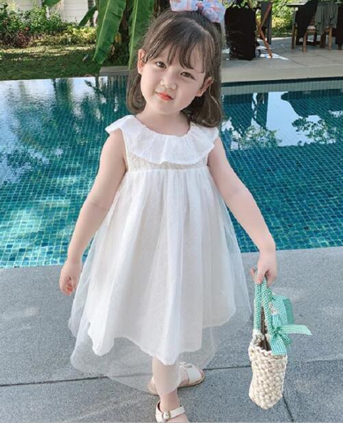 2020★夏新作★おしゃれ★サンドレス★ワンピース★子供服★スカート★プリンセス★淑女★7-15