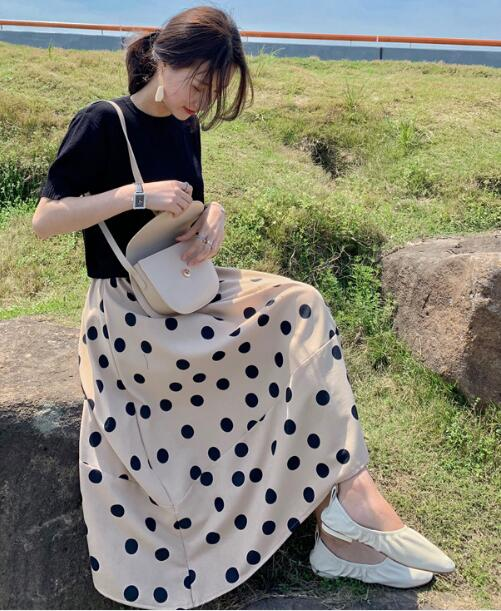 2020★夏新品★おしゃれ★半袖★Tシャツ+半身スカート★スーツ★2セット★S-XL