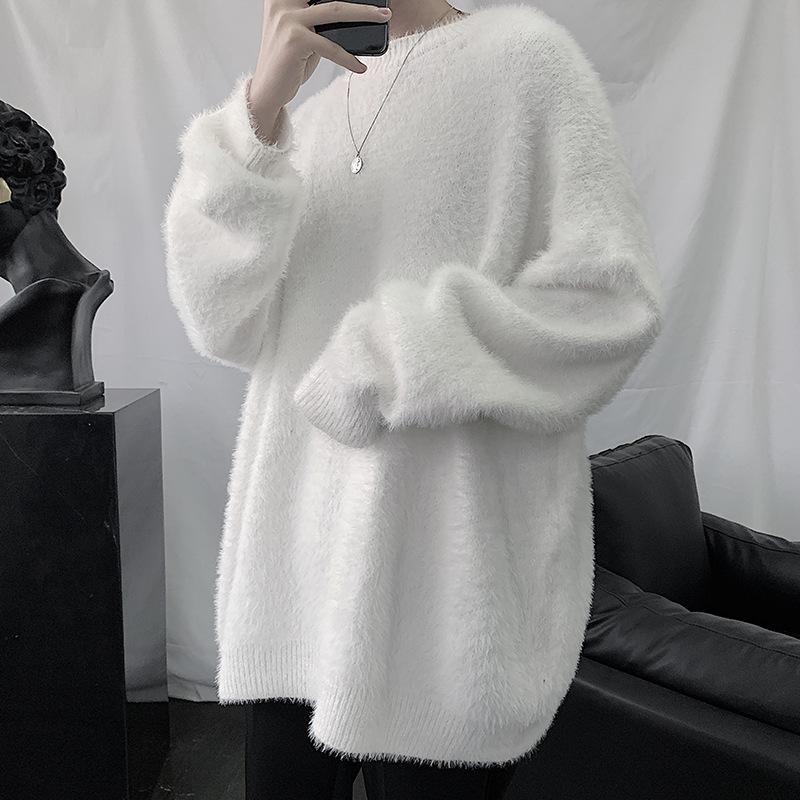 トップス・個性毛糸・セーター・ニット・長袖・人気・メンズファッション・初秋新款