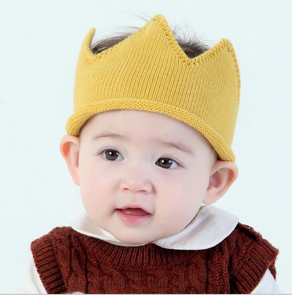 2020年新作★同梱でお買得★子供向け帽子★秋冬可愛い帽子★毛系★王冠★ニット帽子★5色