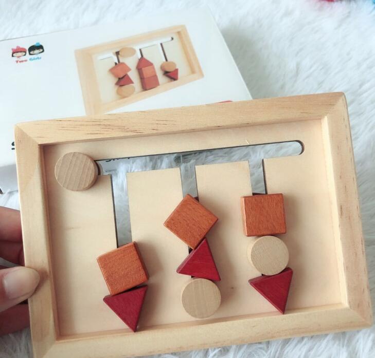子供用品★知育玩具★おもちゃ・ホビー★3D立体遊びもの 木製★