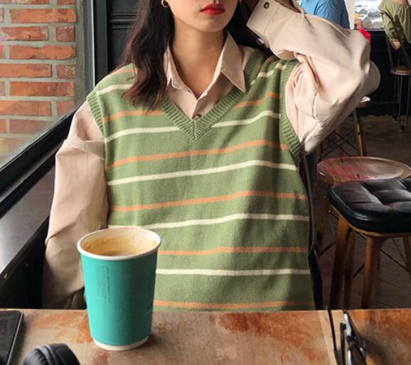 2020★秋冬新作★ファッション★チョッキ★セーター★3色