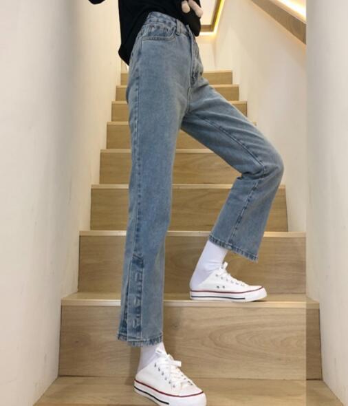 2020★秋冬新作★ファッション★着痩せ★ズボン★ジーンズ★パンツ★2色S-2XL