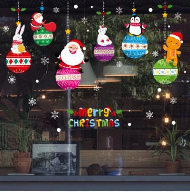 新作★お買い得★DIY壁紙★クリスマス装飾★壁ステッカー★貼り紙★壁装飾★45*60CM