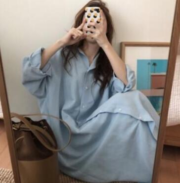新作★大人気★レディースファッション★ワンピース★シャツワンピース