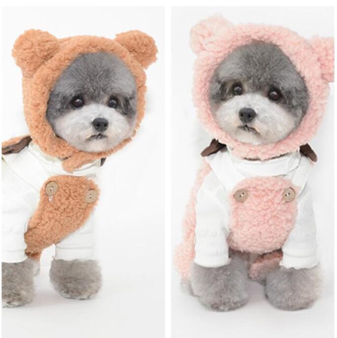 秋冬新品★ペット用品★犬猫通用★帽子★ペット帽子★ペット向け★可愛い★3色★S-L