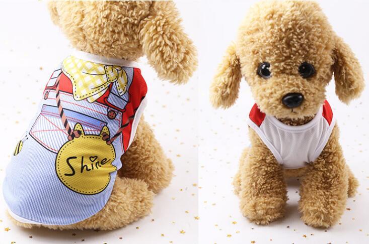 2021★春夏新作★可愛い★超人気★ベスト★ペット服★犬服彡★猫犬用品★5色XS-XXL