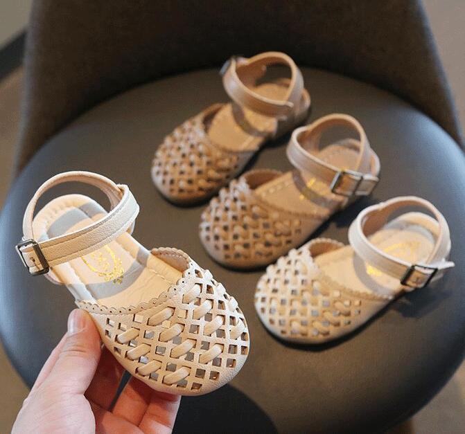 2021新入荷★子供靴★シューズ★サンダル 単靴 2色★タグ21-30(内長13.3〜17.8cm)★