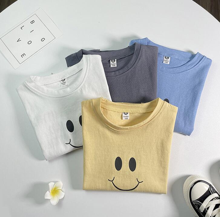 2021夏新品★子供服★シャツ★半袖★キッズ男の子★可愛い★トップス★4色★100-140CM