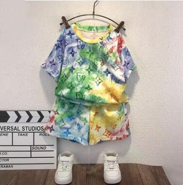 2021年★夏新入荷★キッズ男の子★Tシャツ+ショートパンツ★セットアップ★90-150CM 2色