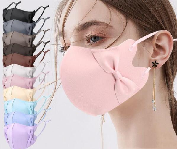 2021夏マスク ★大人クールマスク★洗えるマスク★UVカット★3D 超立体★耳紐調整可能★接触冷感★15色