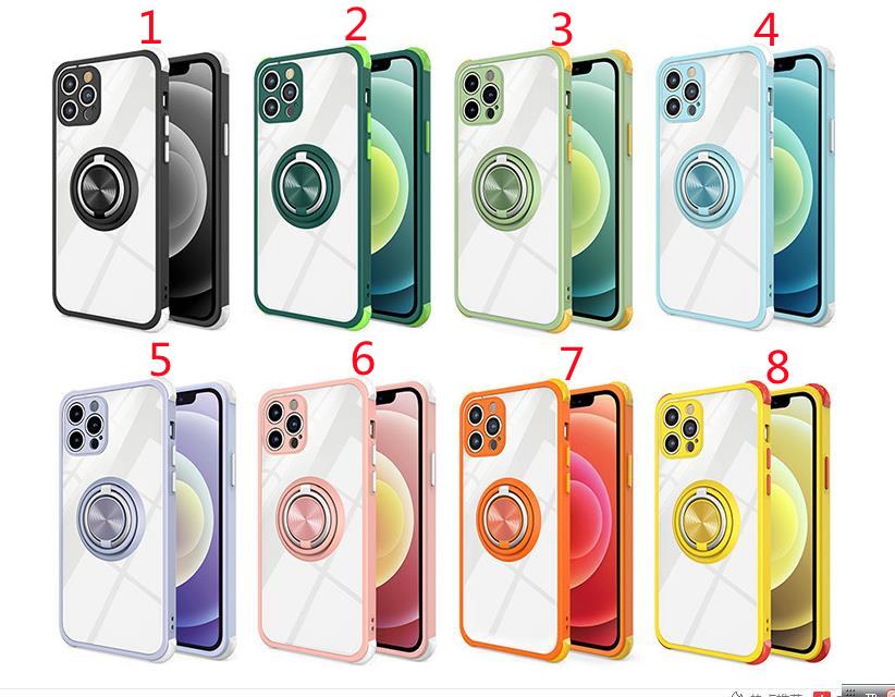 ★iPhone12 スマホケース 登場!!★ 携帯カバー★携帯ホルダー付★車載★全機種対応 8色展開(1)