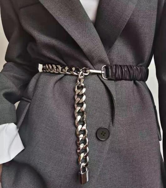 2021★春夏新作★金属チェーン★ベルト★バンド★腰の鎖★レディース★ファッション