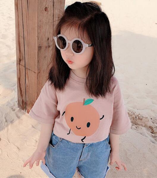 2020★夏新品★激安★Tシャツ★半袖★子供服★キッズ★可愛い★4色90-130CM