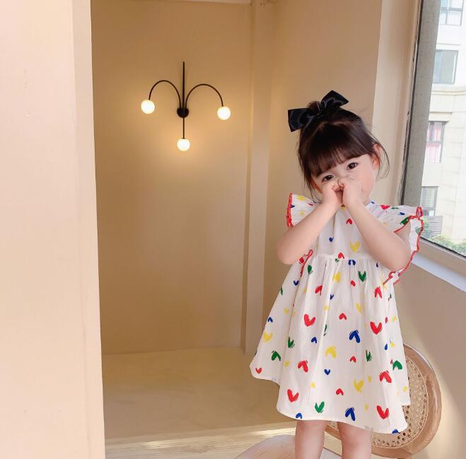 2021夏新作★子供服★子供ワンピース★ベビー★キッズ★韓国子供服★女の子★80-130