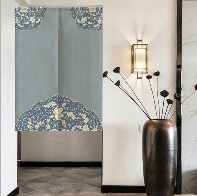 人気商品 ★ カーテン ★ のれん ★古風 暖簾★ インテリア装飾★4色3サイズ選べる