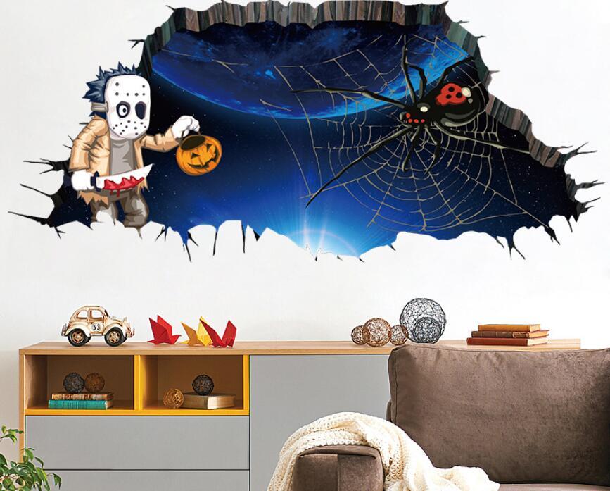 新作★お買い得★DIY壁紙★壁ステッカー★貼り紙★壁装飾★happy halloween 45*60
