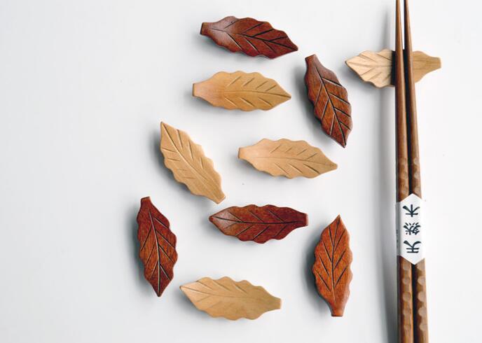 ★生活用品★シンプル★箸置き★キチン木製