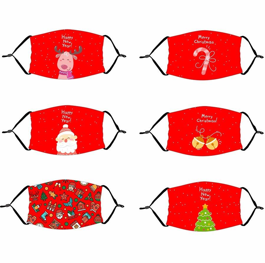 クリスマスマスク★立体マスク★飛沫防止★花粉 ★呼吸がしやすい★子供用/大人用マスク