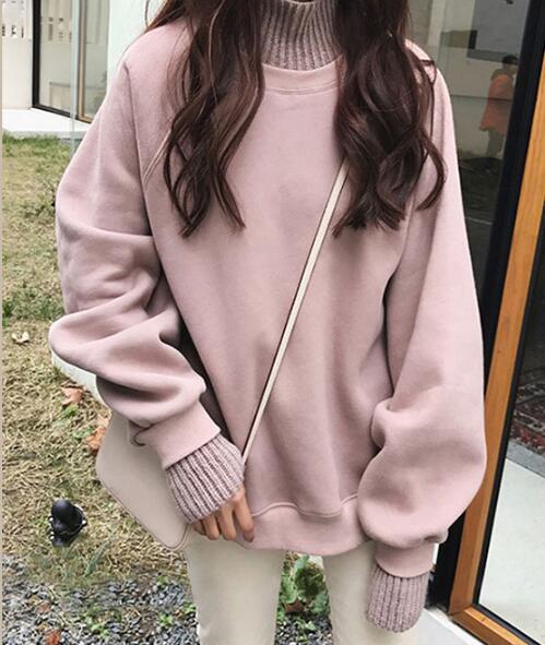2020★秋冬新作★保温★ファッション★綿入れ★パーカー★ ハイネック★3色M-2XL