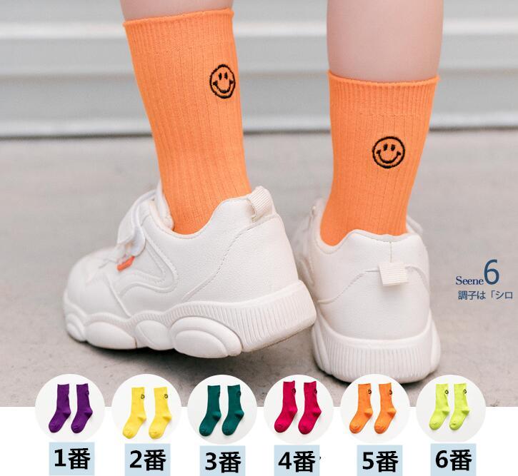 ★新入荷!激安!★子供用靴下&ソックス 1-12歳★S/M/L/XL★6色