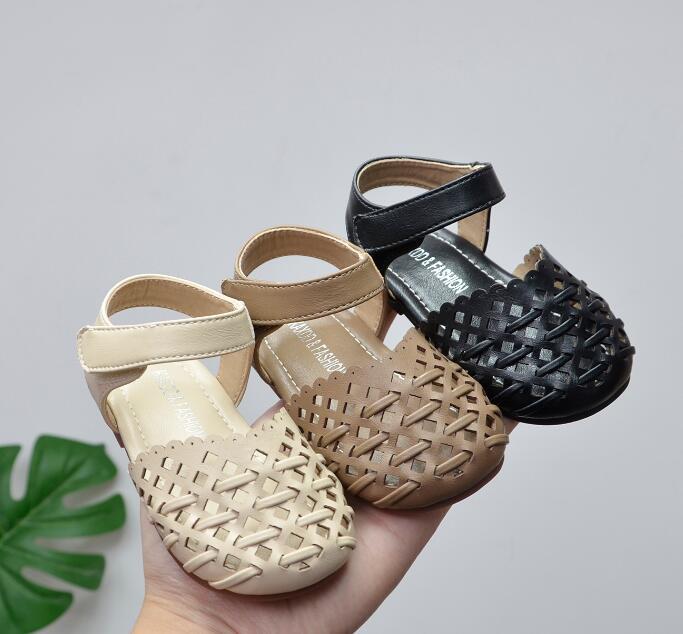 新入荷★★子供靴★ キッズ靴 シューズ★単靴  サンダル 0-3歳向け★タグ15-25★3色