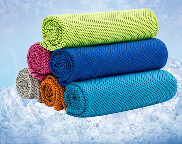手拭きタオル/涼しい/夏の定番/運動用/吸汗速乾/温度を下げる神器