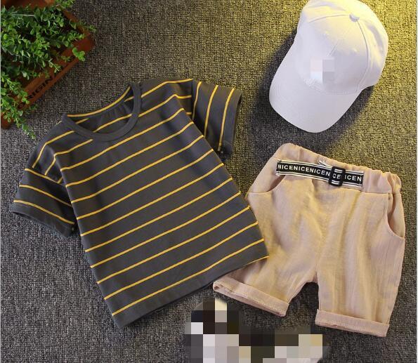 2020新作★激安!★大人気!★Tシャツ+ズボン★2セット★スーツ★2色80-110