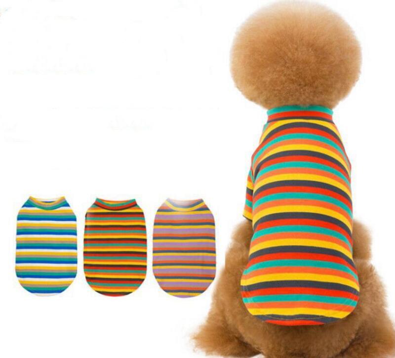2020新作★ペット服★ストライプ★犬★ペット用品★ニット★愛犬大変身★S-XXL★3色