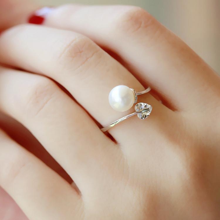 欧米のファッション★レディース★アクセサリー★真珠★指輪★リング ★人気商品☆彡