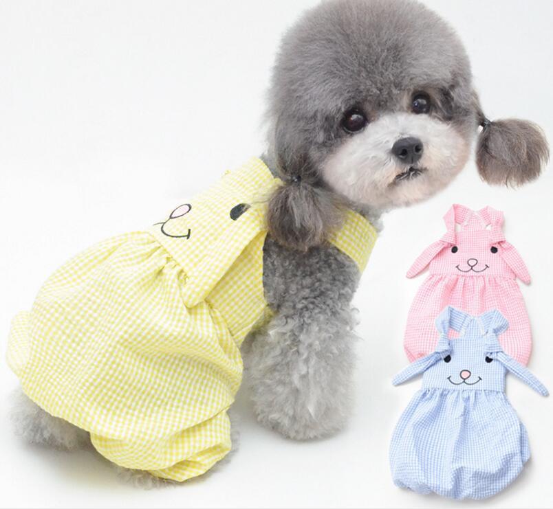新品★ペット用品★♪ペット服★ワンちゃん★犬服★チェック柄★♪ 愛犬大変身★子犬適用★3色★
