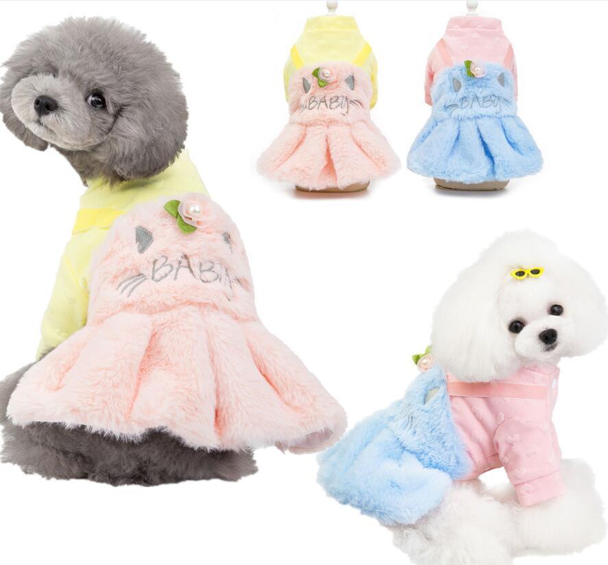 新作/素敵なペット服/可愛い犬服/ワンピース/愛犬大変身/可愛い/S-XXL