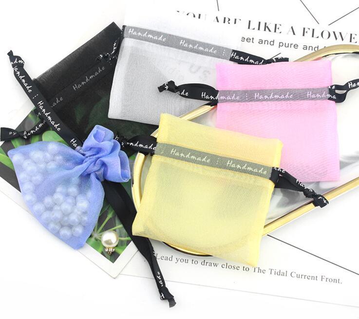 ★人気商品★チュール巾着 巾着袋 10*10cm★プレゼント包装用