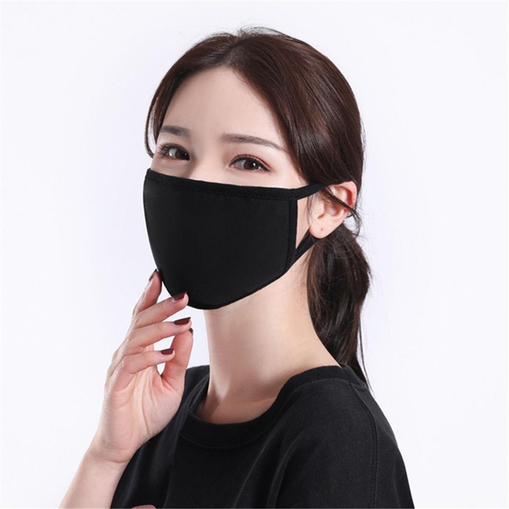 大人用・綿のマスク・マスク・UV対策・防塵・焼け防止・通気性・男女通用