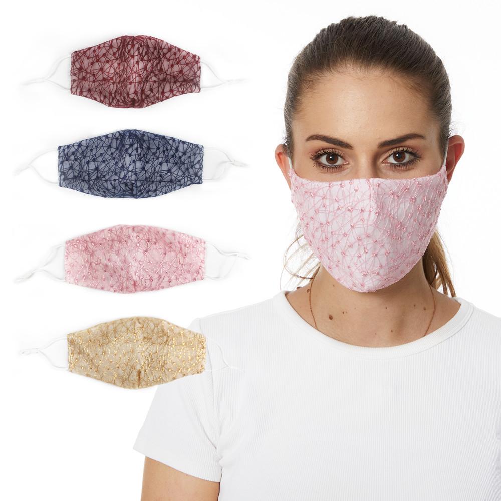花柄マスク★立体マスク★飛沫防止★花粉 ★呼吸がしやすい★大人用マスク