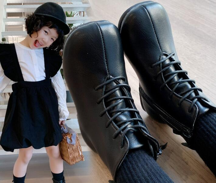 ★新作★人気商品★子供靴★単靴★キッズ靴★ブーツ★キッズシューズ(24-35)