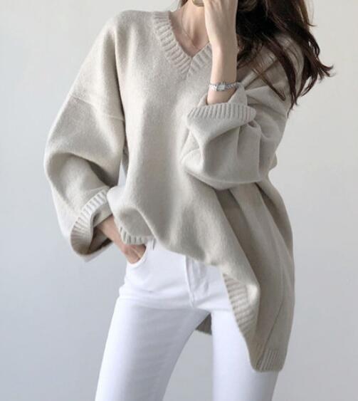 2020★秋冬新作★ファッション★保温★セーター★メリヤス★長袖★3色