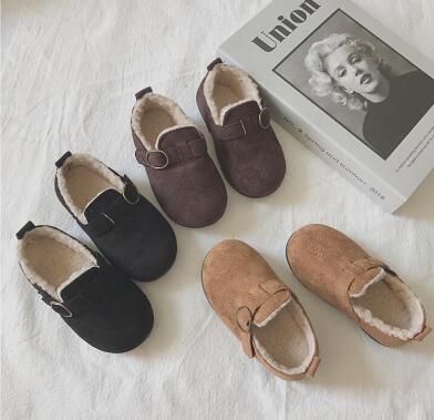 新作★大人気★子供靴★シューズ★裏起毛付き★単靴