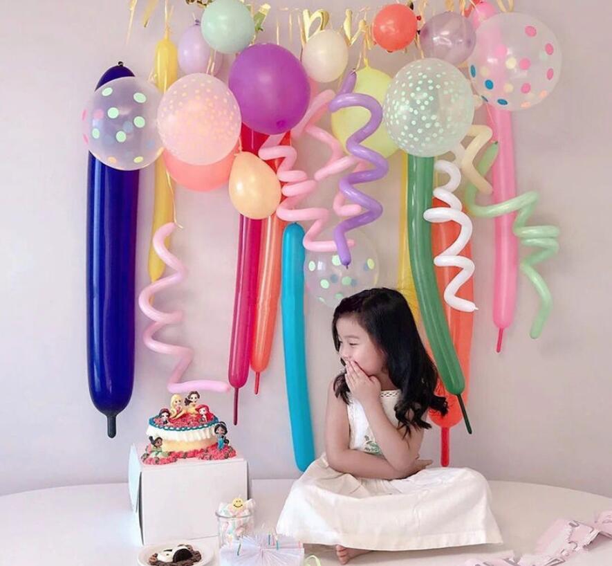 飾り物/部屋装飾風船/祭り風船/結婚式用風船/風船/多色