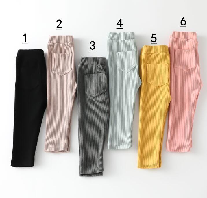 春秋新品★★子供服 パンツ 6色★80-130cm★