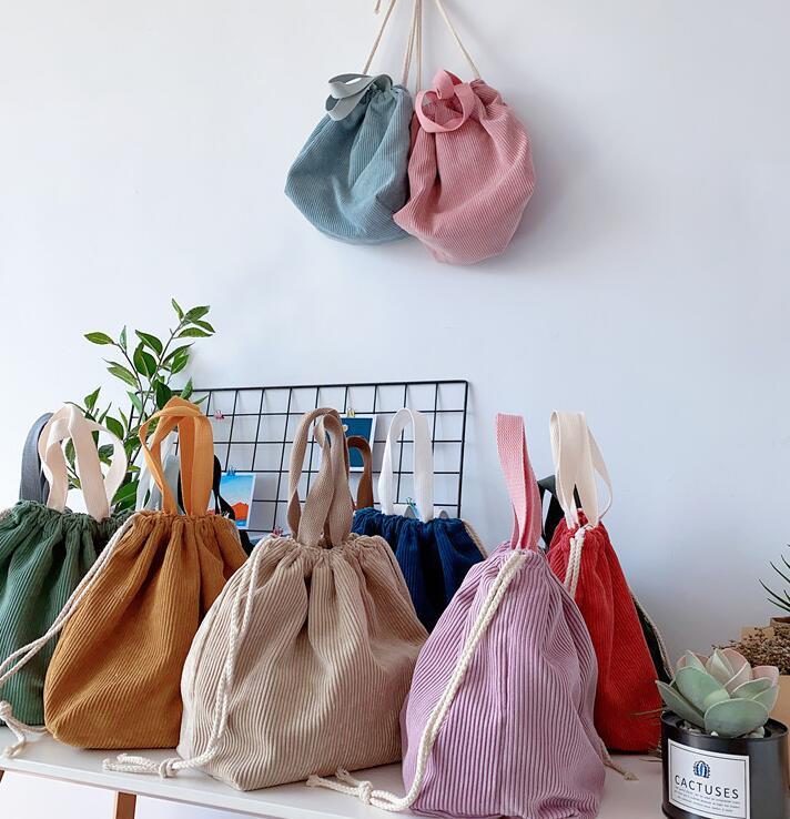 ★お弁当袋 ポーチ ★ランチバッグ 給食袋★収納バッグ 10色