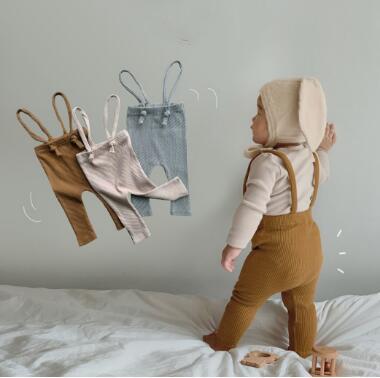 新品★ベビー服 サロペットパンツ レギンス パンツ 3色★66-90★