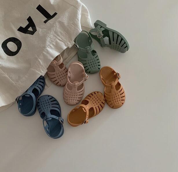 新入荷★★子供靴★シューズ★単靴 サンダル 5色★タグ24-29(内長14.5〜17.8cm)★