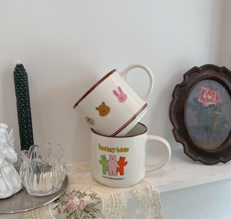 雑貨★新入荷★マグカップ★陶器製★コーヒーカップ★ミルクカップ