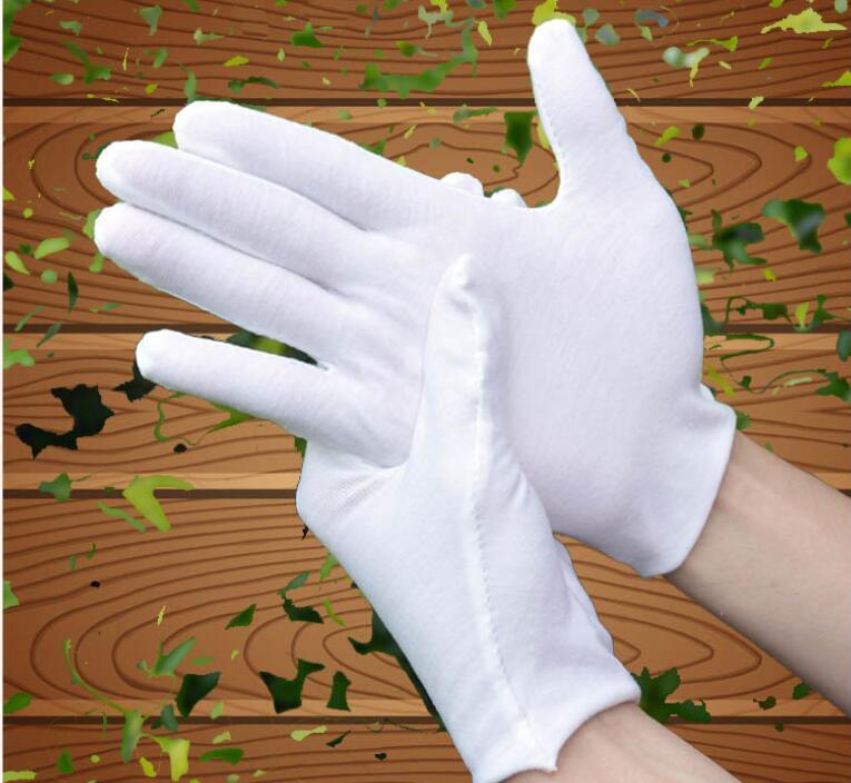 2020★綿白色手袋★ 掃除用品 作業用品 園芸作業★ 使い捨て手袋★防塵/防細菌★飛沫感染を防ぐ
