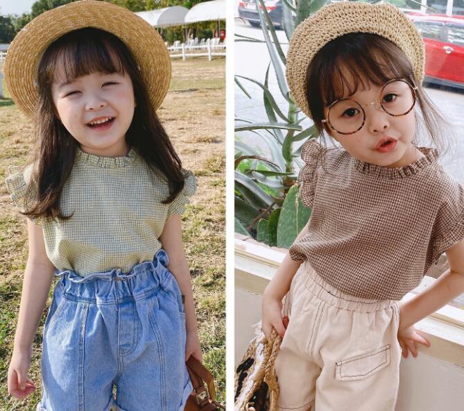 春新型★キッズ服★トップス★Tシャツ★2色★80-130